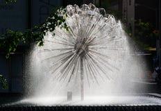Miasto Nowy Jork fontanna Obrazy Royalty Free