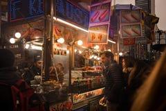Miasto Nowy Jork fury karmowy sprzedawca obraz stock