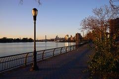 Miasto Nowy Jork Harlem rzeki usa Obrazy Stock