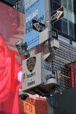 Miasto Nowy Jork kamery bezpieczeństwe W Miasto Nowy Jork fotografia royalty free