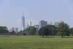 Miasto Nowy Jork linia horyzontu Fotografia Stock