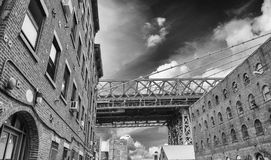Miasto Nowy Jork linia horyzontu Fotografia Royalty Free