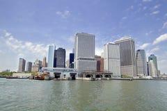 Miasto Nowy Jork - lower manhattan Zdjęcie Stock