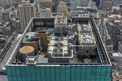 Miasto Nowy Jork Machinalny wyposażenie Obraz Stock