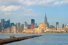 Miasto Nowy Jork, Manhattan budynków widok Obrazy Royalty Free