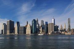 Miasto Nowy Jork Manhattan linia horyzontu Zdjęcie Stock