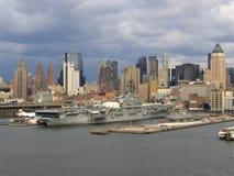 Miasto Nowy Jork Manhattan Ogólny widok fotografia stock