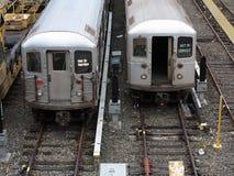 Miasto Nowy Jork metro fotografia royalty free