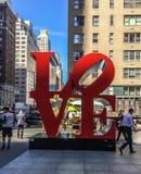 Miasto Nowy Jork miłość Zdjęcia Stock
