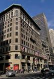 Miasto Nowy Jork mody Wydziałowego sklepu fifth avenue zakupy Taylor i władyki Wydziałowego sklepu Manhattan statku flagowego Det zdjęcie royalty free