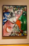 Miasto Nowy Jork MOMA Marc Chagall Fotografia Stock