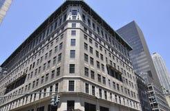 Miasto Nowy Jork, 2nd Lipiec: Władyka & Taylor budynek od fifth avenue w Manhattan od Miasto Nowy Jork w Stany Zjednoczone obrazy stock