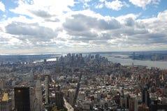Miasto Nowy Jork, obszar wielkomiejski, miasto, niebo, obszar miejski Fotografia Royalty Free
