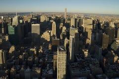 Miasto Nowy Jork północy widok Obraz Royalty Free