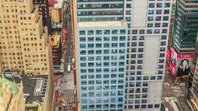MIASTO NOWY JORK, PAŹDZIERNIK 9, 2014 - zmierzch przy Manhattan zdjęcie wideo