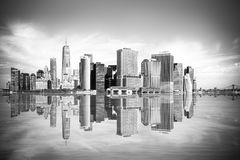 Miasto Nowy Jork pejzaż miejski Manhattan obraz stock