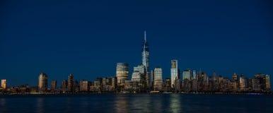 Miasto Nowy Jork Pieniężny okręg, Manhattan Zdjęcia Royalty Free