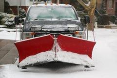 Miasto Nowy Jork przygotowywający dla czyści up po tym jak masywna Śnieżna burza Juno uderza północnego wschód Fotografia Royalty Free