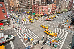 Miasto Nowy Jork Punkt zwrotny, USA. Obraz Royalty Free