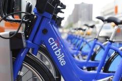 Miasto Nowy Jork roweru udzielenia stacja Zdjęcia Royalty Free