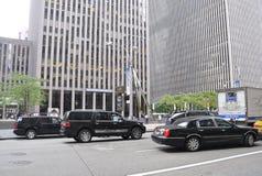 Miasto Nowy Jork, Sierpień 3nd: Drapacz chmur od Rockefeller centrum w Manhattan w Miasto Nowy Jork Fotografia Royalty Free