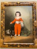 Miasto Nowy Jork Spotykający - Francisco De Goya, Manuel Osorio Manrique De Zuniga - zdjęcie royalty free