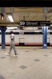 MIASTO NOWY JORK - stacja metru Obrazy Royalty Free