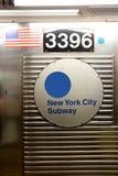 MIASTO NOWY JORK - stacja metru Fotografia Royalty Free