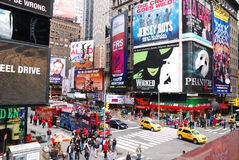Miasto Nowy Jork Times Square Manhattan Obrazy Royalty Free