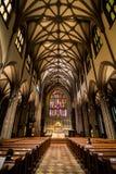 Miasto Nowy Jork trójcy kościół Zdjęcia Royalty Free