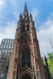 Miasto Nowy Jork trójcy kościół Zdjęcia Stock