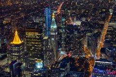 Miasto Nowy Jork, USA Zdjęcia Stock