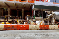 MIASTO NOWY JORK, usa - 04, 2017: Budować w budowie w Manhattan Zdjęcia Stock