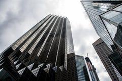 Miasto Nowy Jork usa linii horyzontu atutu wierza Duży Apple Zdjęcie Stock