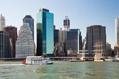 MIASTO NOWY JORK, usa - Paddle koła serca steamboat królowa Fotografia Royalty Free
