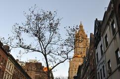 Miasto Nowy Jork w jesieni, Manhattan, Miasto Nowy Jork, usa Zdjęcia Stock