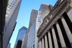 Miasto Nowy Jork Wall Street Zdjęcia Stock