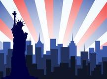 Miasto Nowy Jork wektor ilustracji
