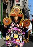 Miasto Nowy Jork: 2016 Wielkanocnych parad Obrazy Royalty Free