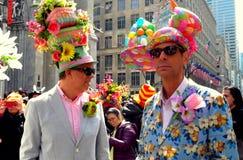 Miasto Nowy Jork: 2016 Wielkanocnych parad uczestników Obrazy Stock