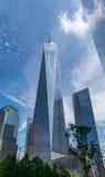 Miasto Nowy Jork wolności centrum Obraz Stock