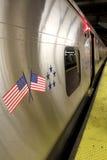 MIASTO NOWY JORK, WRZESIEŃ - 01: Metro furgon na Wrześniu 01, 2013 Zdjęcie Stock