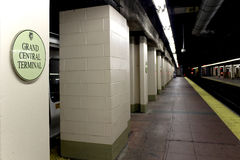 MIASTO NOWY JORK, WRZESIEŃ - 01: Metro centrali Uroczysta stacja na Se Zdjęcia Stock