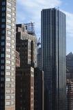 miasto nowy York drapacze chmur Fotografia Royalty Free