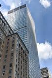 miasto nowy York drapacze chmur Zdjęcia Royalty Free