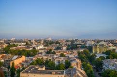 Miasto od dachu Zdjęcia Stock