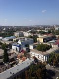 Miasto od wierzchołka Zdjęcie Royalty Free