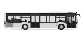 miasto odizolowane autobus ilustracja wektor