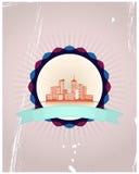 Miasto odznaka Zdjęcie Royalty Free