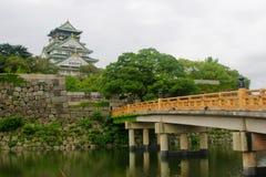 miasto Osaka Obraz Royalty Free